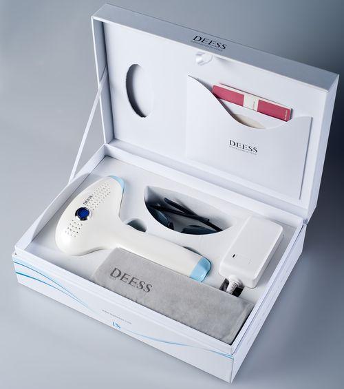 DEESS IPL: otthoni tartós szőrtelenítő gép